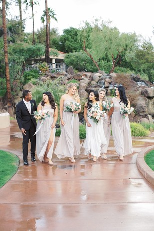 formal bridal party style