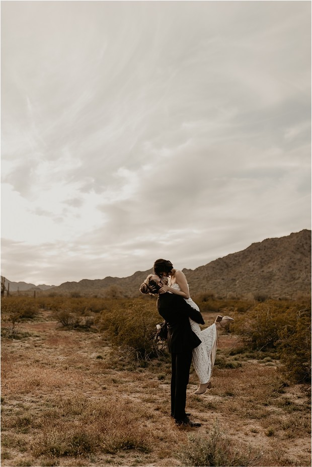 Bohemian Grunge Meets Desert Wedding Ideas