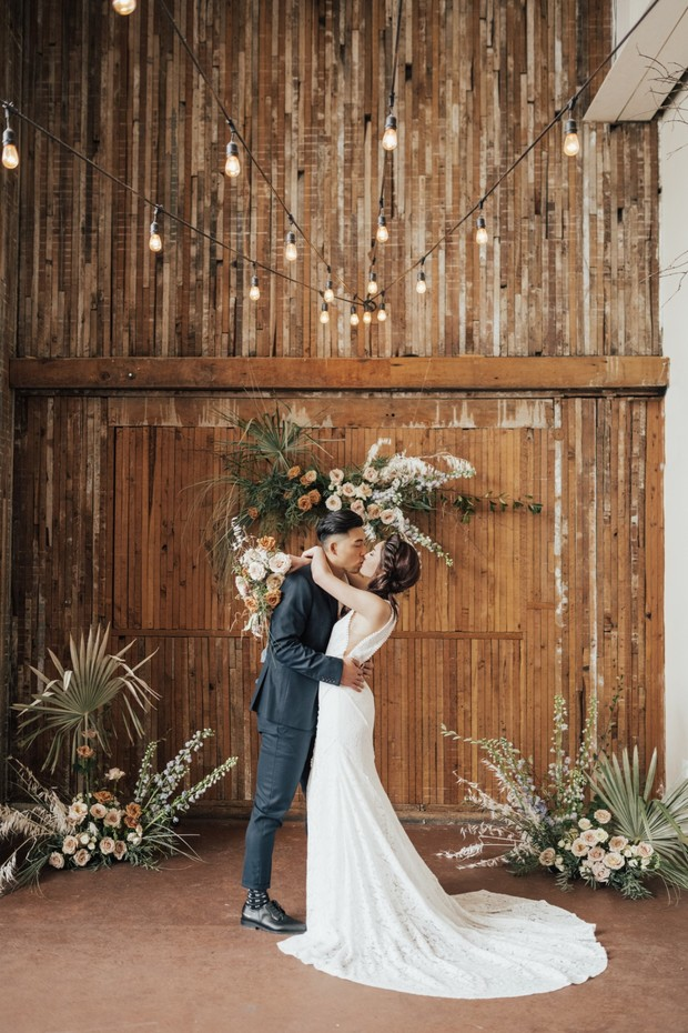 rustic boho wedding design