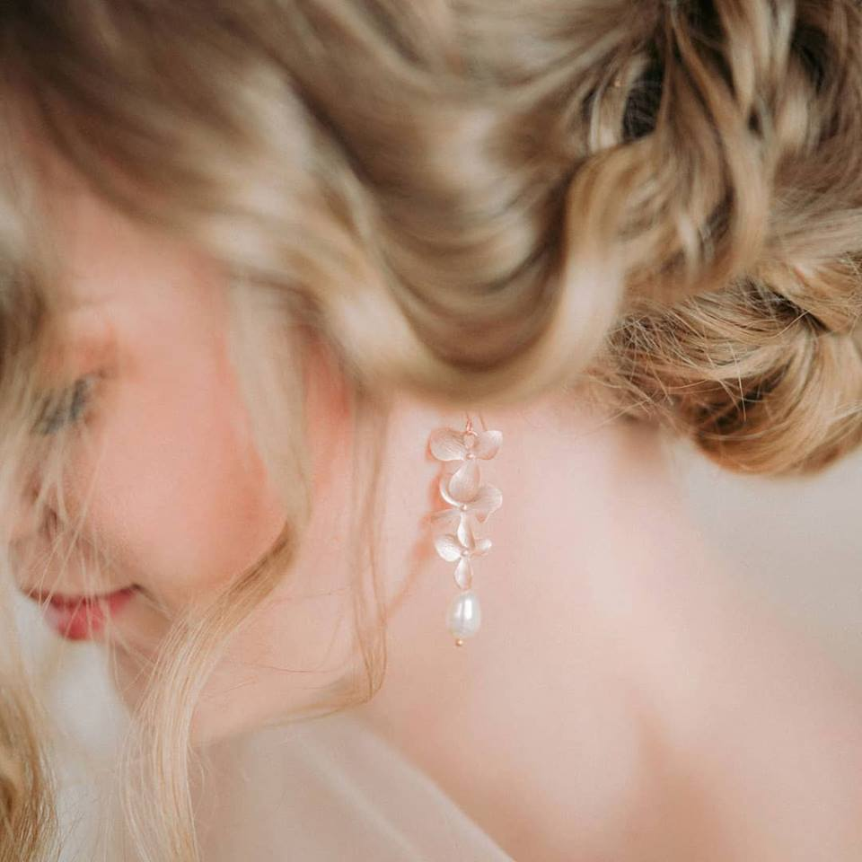 One of a kind bridal jewelry