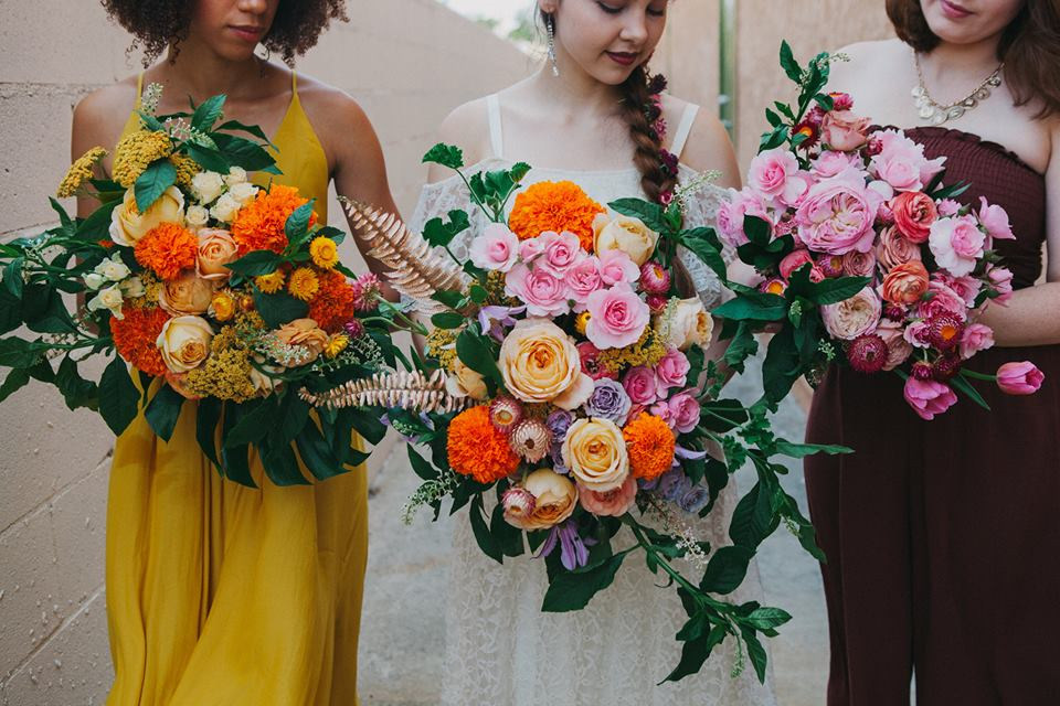 fun floral design for your wedding day