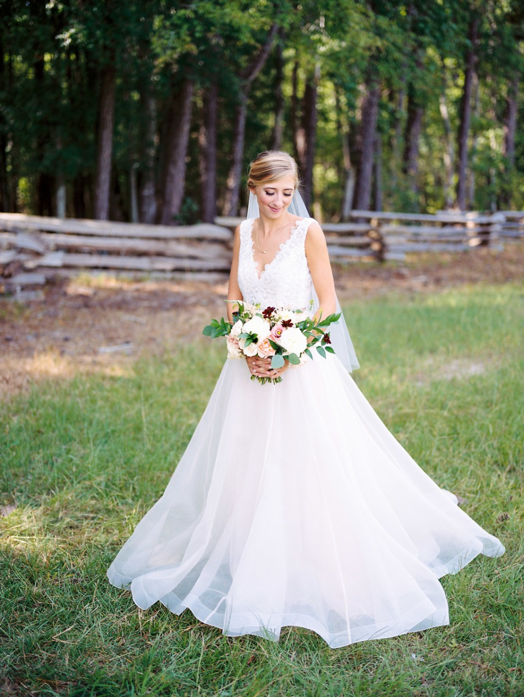 KATELIN + JOSEPH'S SPRING FARM WEDDING