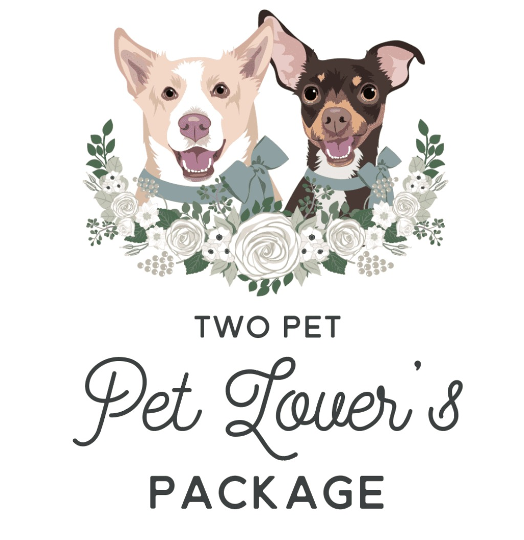Calling all pet lover couples looking to include their fur babies in a BIG way for the wedding day! This package includes our most
