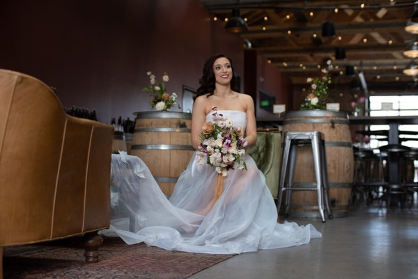 A Classic Meets Industrial Wedding Inspiration