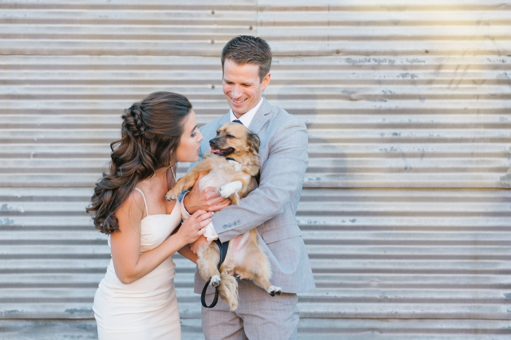 Always love when couples include their fur babies on the wedding day!!!