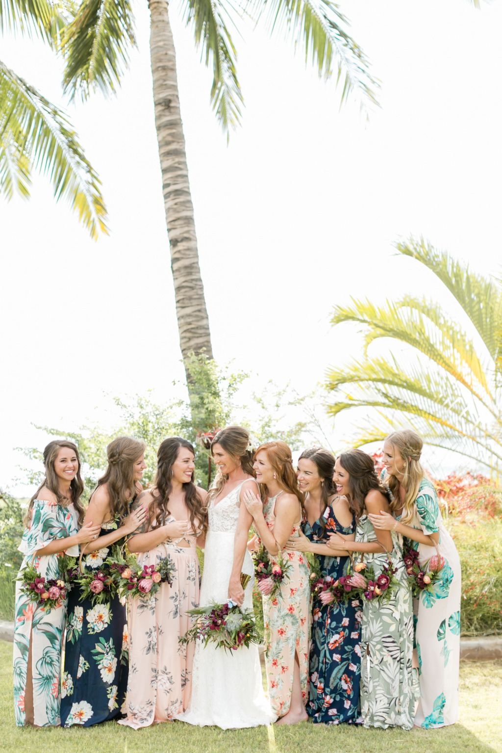 Photo by Caitlin Cathey Photography | Maui Wedding Photographer | Maui Weddings | Luxury Hawaiian Wedding | Beach Wedding | Botanical