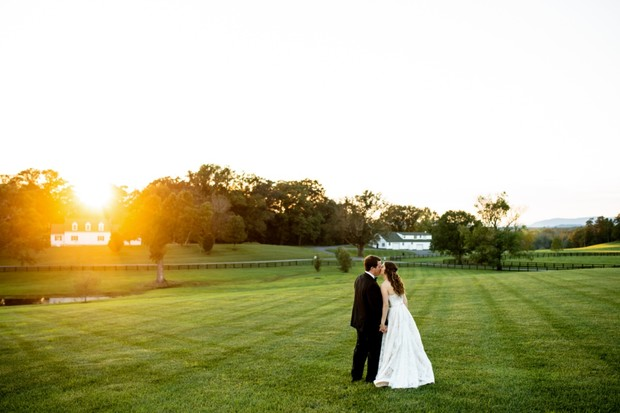 farm outdoor wedding