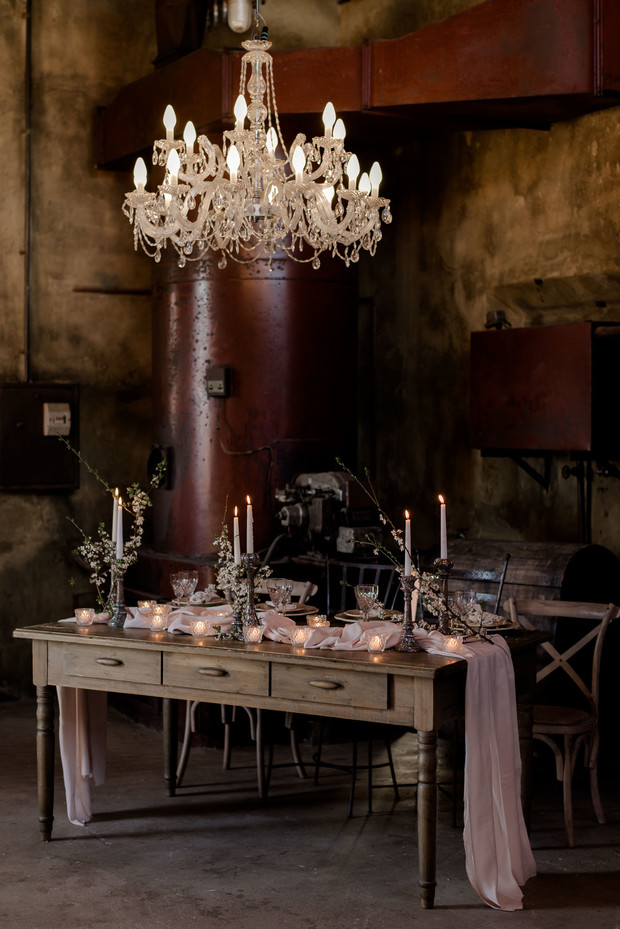 romantic wedding table design