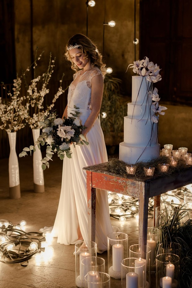 romanic wedding lighting