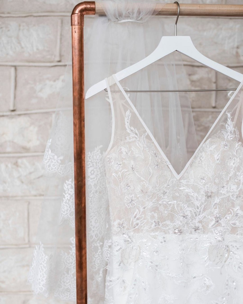 Dazzling details & jaw-dropping drama make for the Mona, a magnificent bridal gown like no other.👰