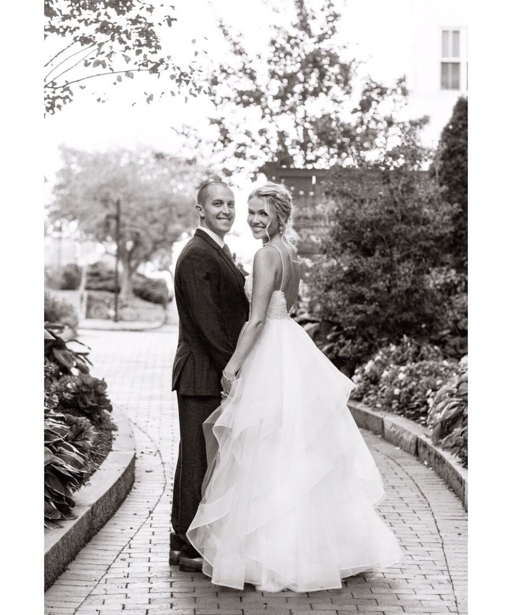 Love, like a black and white photograph, is timeless. 'Lavonne' gown style number LA7274.