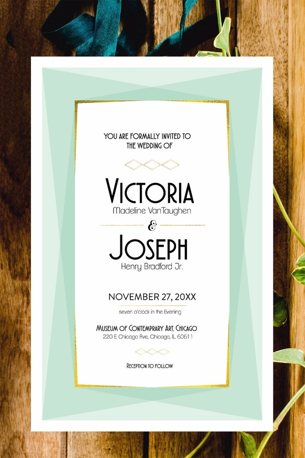 Free Wedding Stationery That's Actually Super Cute