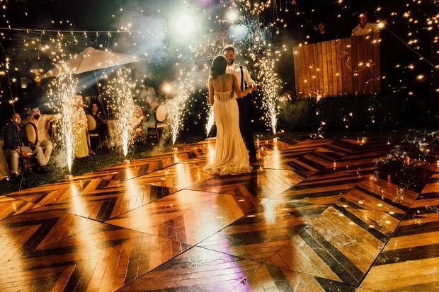 sparkler first dance
