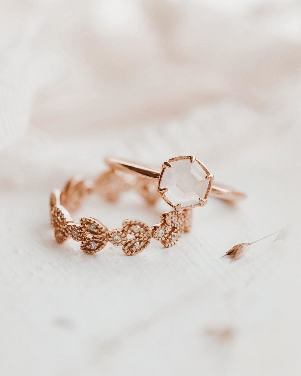 Moonstone + rose gold never get old. ✨ #sarahojewelry