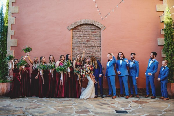 How to Have a Tuscan Bohemian Wedding That's Extra
