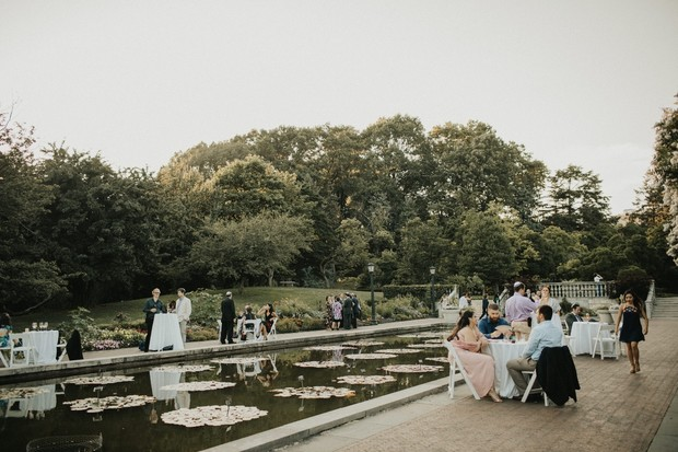 wedding at The Palm House at Brooklyn Botanic Garden