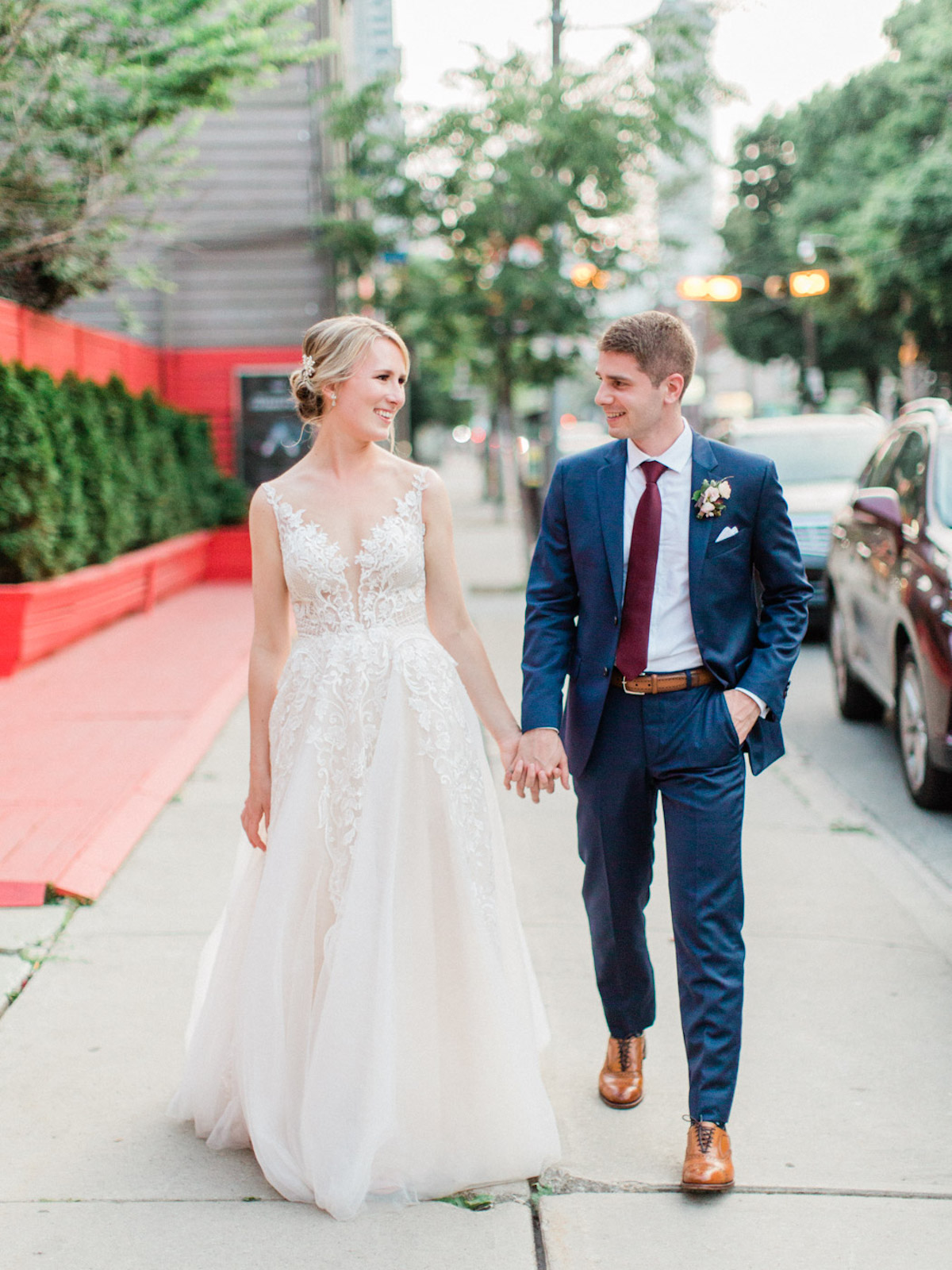 romantic wedding in Toronto