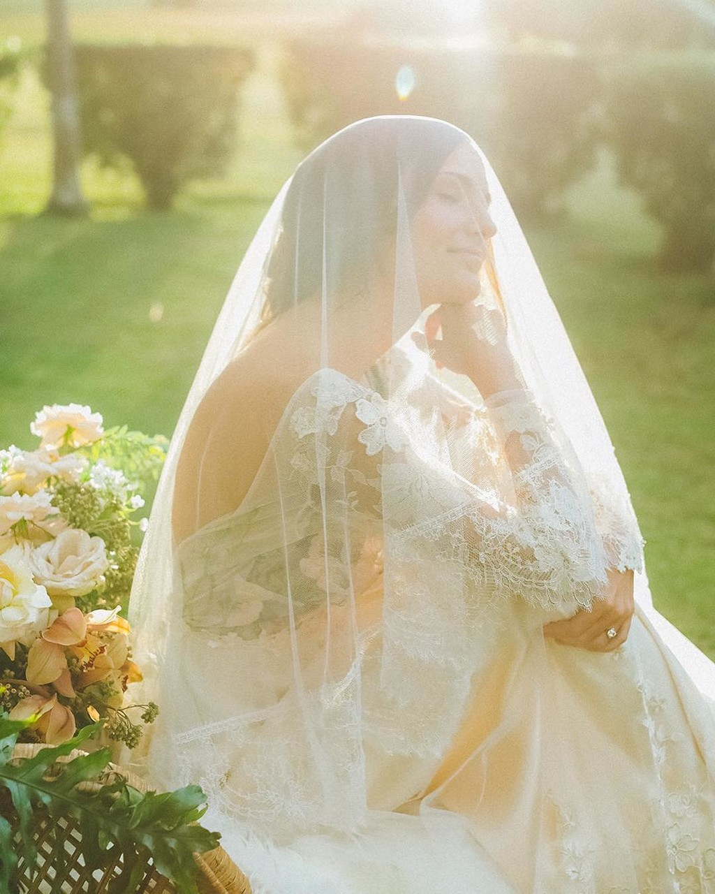 When they ask me about the romantics of #bridalveils