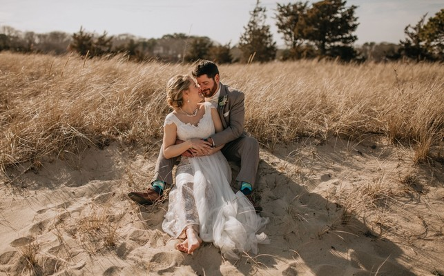 Carefree Ocean Inspired Wedding On The East Coast