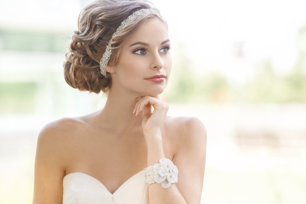 Make your accessories unique for your special day.
