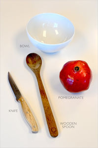 How To Deseed A Pomegranate