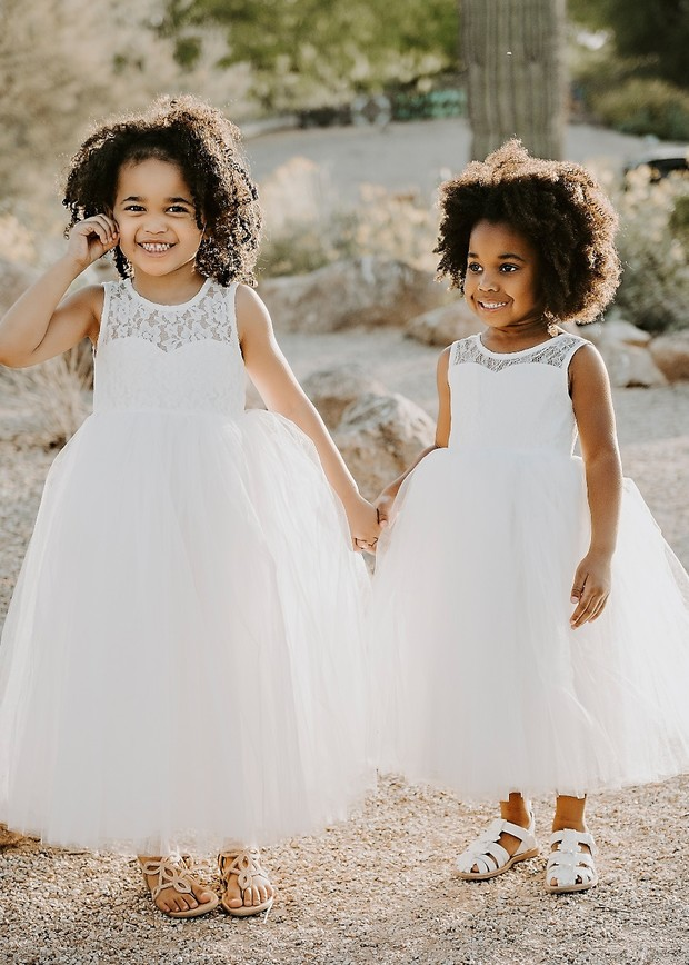 Flower Girl Dresses New Design Gradient Cloud Little Flower Girl Dresses For Weddings 2018 Kids Dress For Princess Holiday Party Wedding Girl Dress Large Assortment Weddings & Events