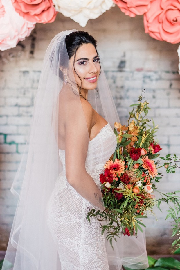 beautiful summer vibes bride
