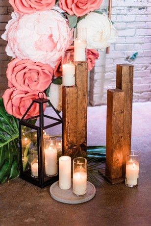 candle lite wedding ceremony