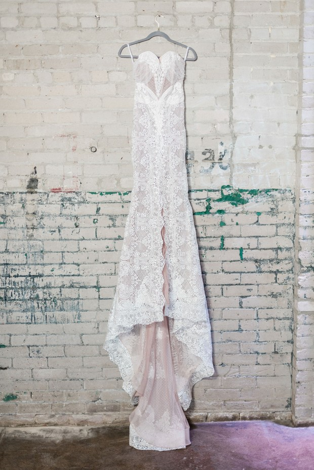 wedding dress by Katerina Bocci