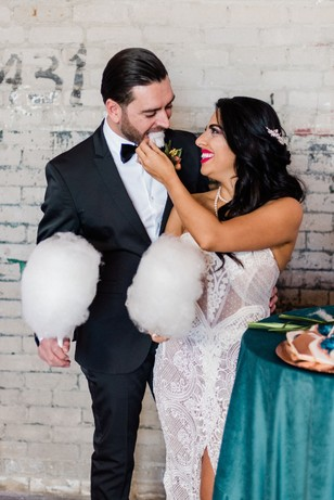 cotton candy for your weddding