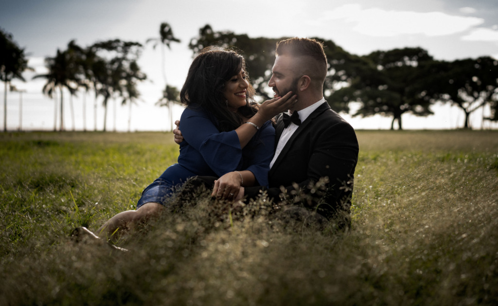 Sunny Elopement on the Island of O'ahu.