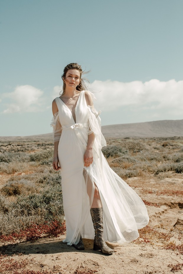 gorgeous wedding dress from Ritual Unions 2020 Bridal Collection 'BLOW'
