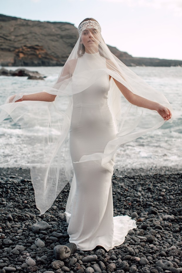 dreamy wedding veil Ritual Unions 2020 Bridal Collection 'BLOW'
