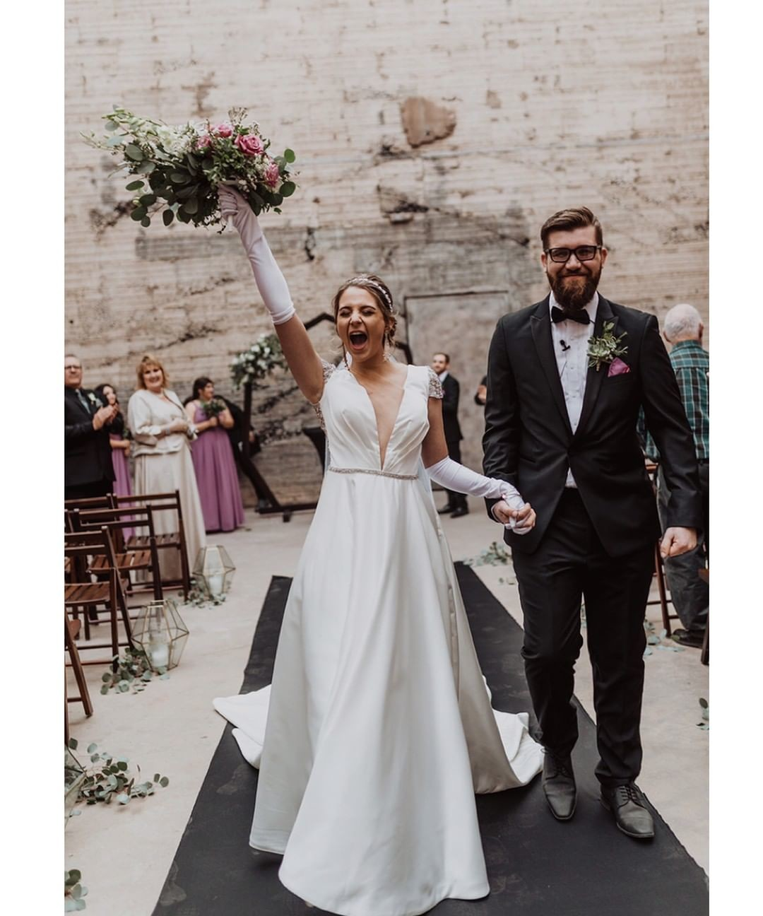 "That feeling after saying ""I do!"""