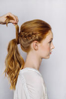 Boho Braided Hairstyle DIY