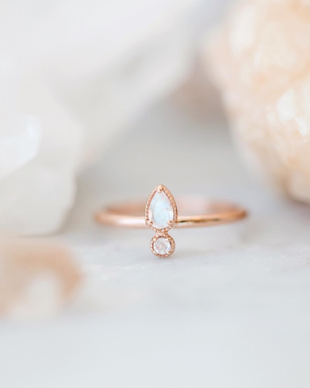 Want to win this magical moonstone ring in 14k rose gold?! Head over to this post on