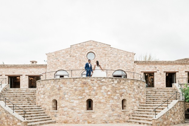 Get married at the Pyrgos Petreza on Greece