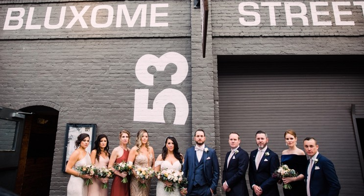 A Stylish and Romantic Winery Wedding in San Francisco