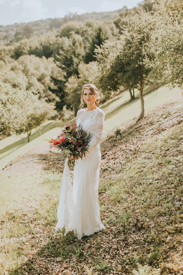 wedding style for the rustic bride