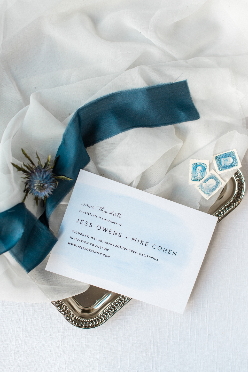 Add a subtle pop of color to your Simple Brushstroke Wedding Invitation Suite. With over 280 colors to choose from, your bound to find