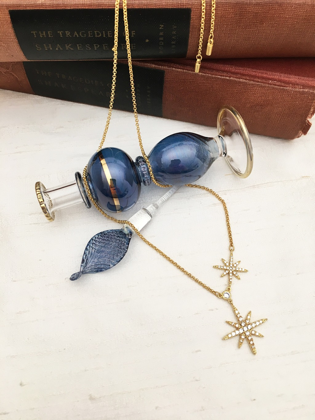 Who doesn't love Celestial themed gifts? Double North Star pendant designed by Be-Je designs, hand-made in Florida. A fabulous gift