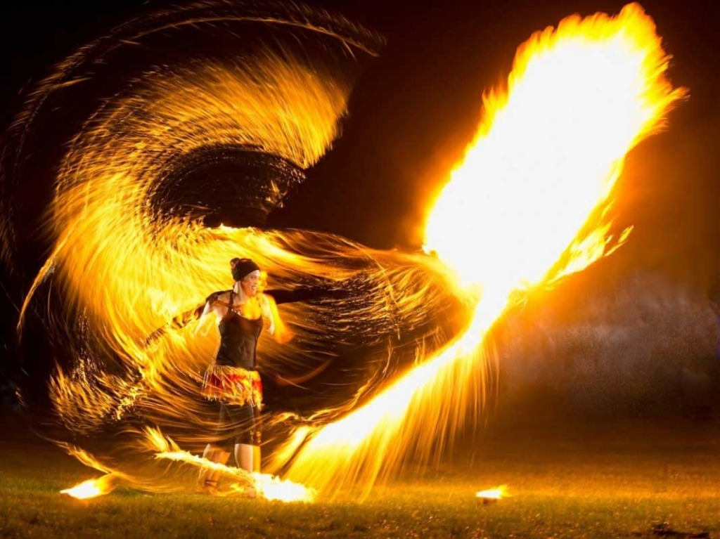 Light up the night sky with an amazing fire show. Almost everyone is drawn by a pagan fascination with fire so