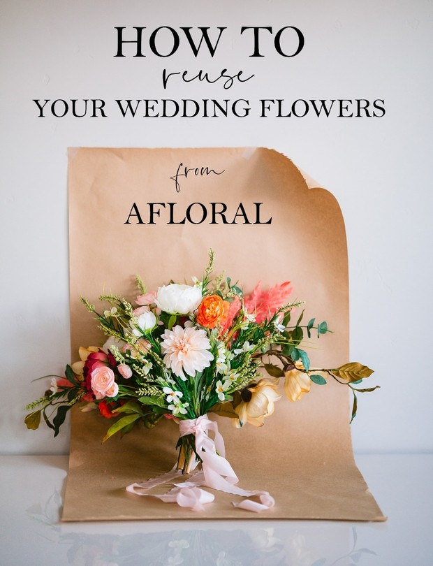How to resue your wedding flowers from AFLORAL