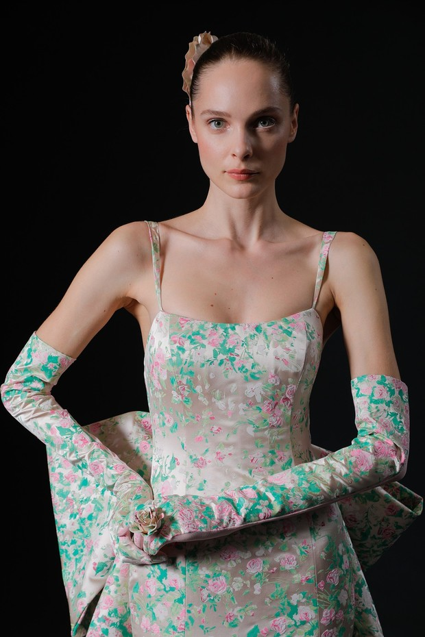 Meadow dress by Isabelle Armstrong 2020 Spring