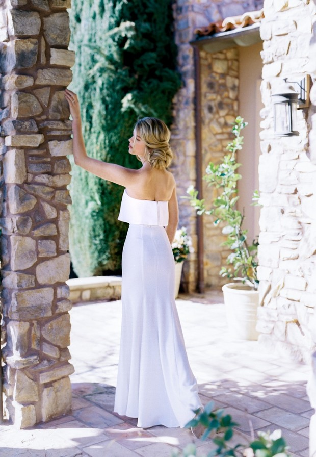 A Little White Dress Is Always a Good Idea for the I Dos
