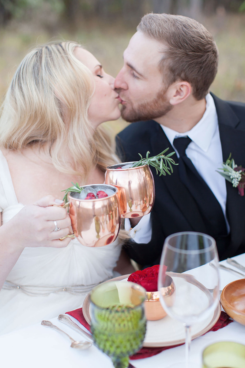 Christmas Inspired Wedding Ideas