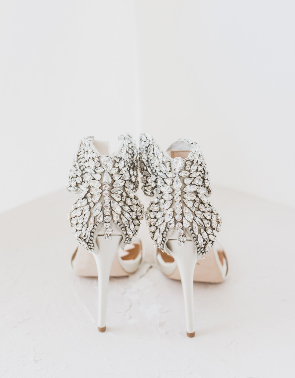 The perfect pair of @badgleymischkabride shoes!
