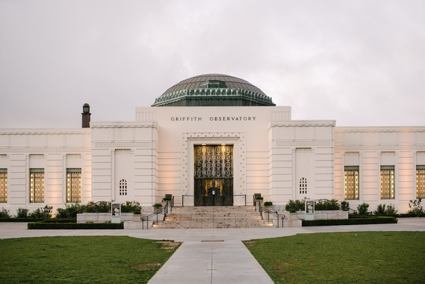 wedding venue at Griffith Observatory