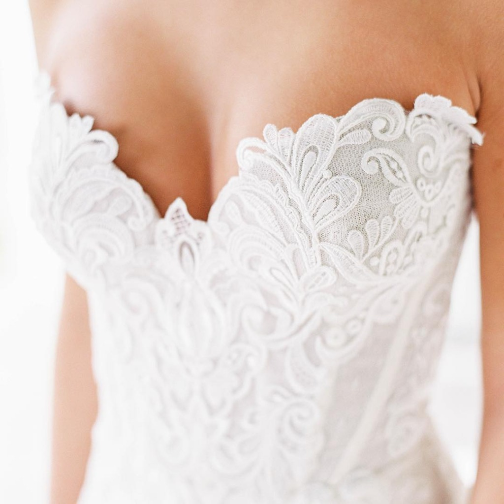 The details of this gown are insane!