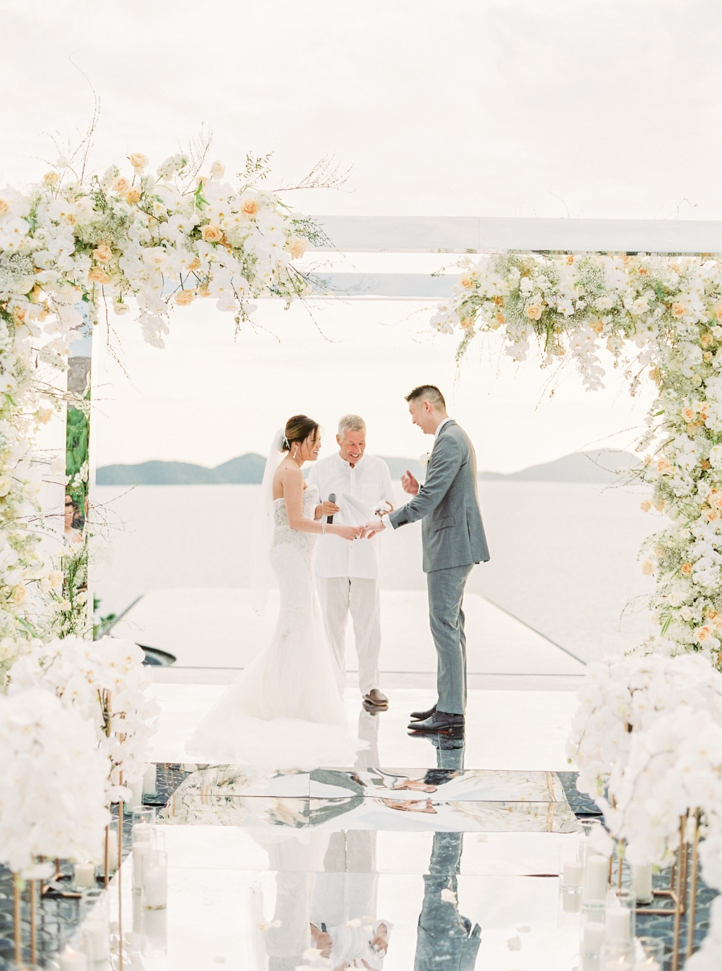 Unforgettable wedding ceremony in Phuket with sweeping views and jaw-dropping design